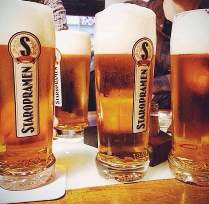 Чехия — полторы бутылки пива
