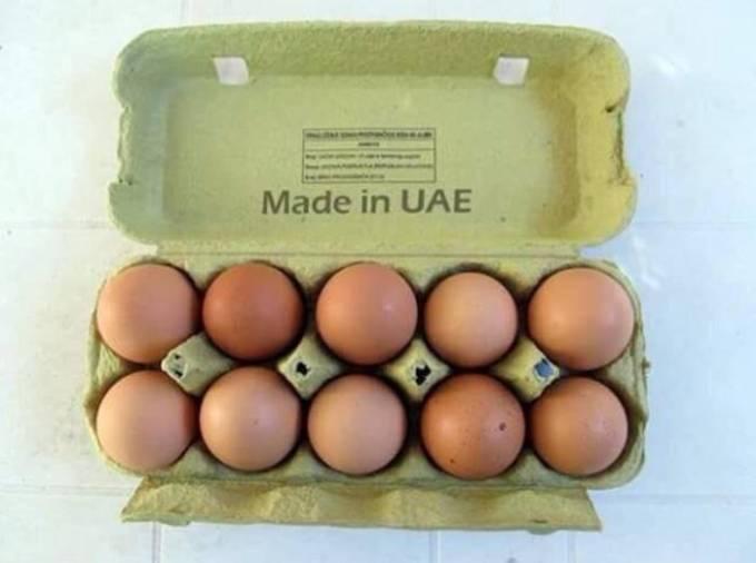 Малайзия — десяток яиц