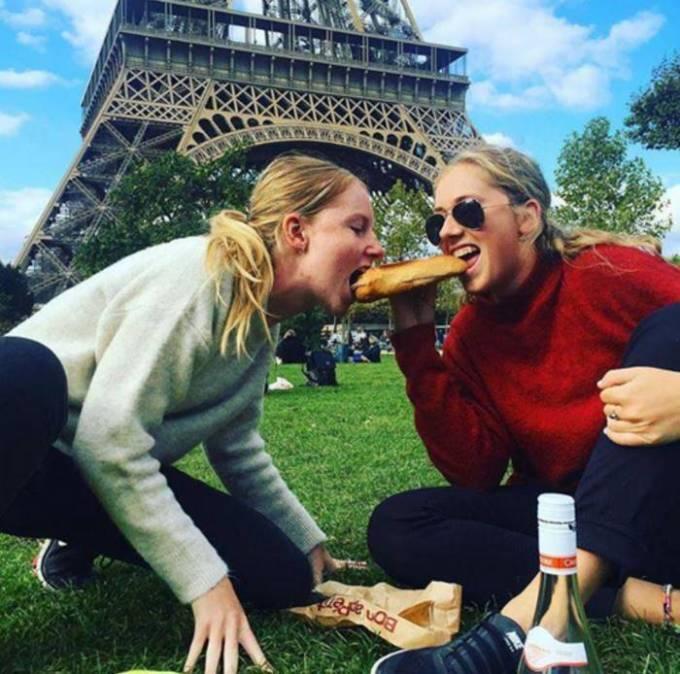 Франция — один багет