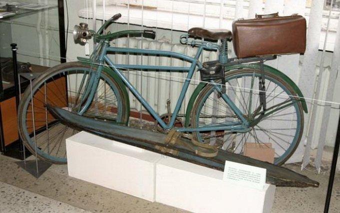 Велосипед Глеба Травина.