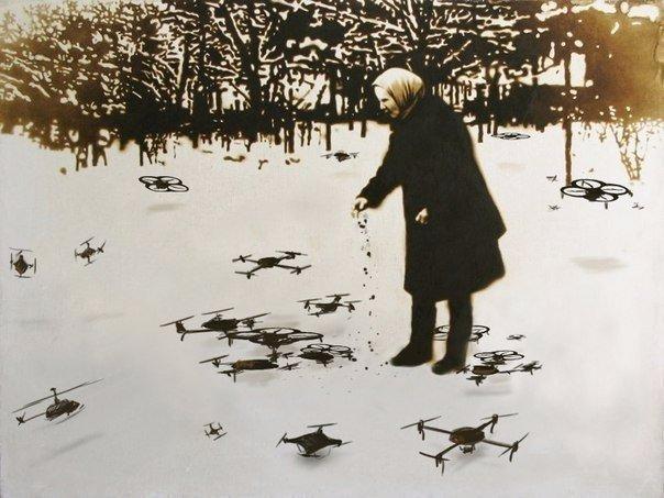 babushka-i-drony