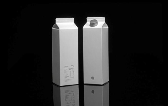 Молоко Apple.