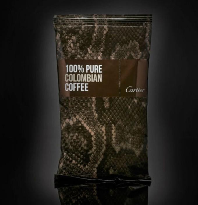 Кофе от Cartier.
