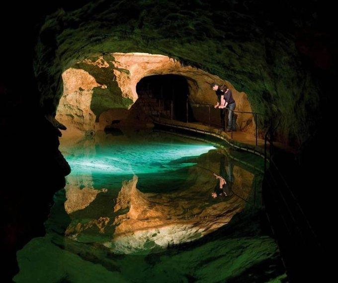 Пещера Jenolan, Австралия.