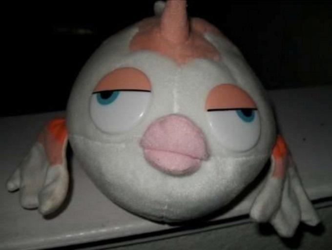 Рыбка из мультфильма «В поисках Немо» немного устала.