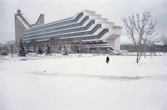 Политехнический институт в Минске.