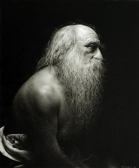 Портрет старика.