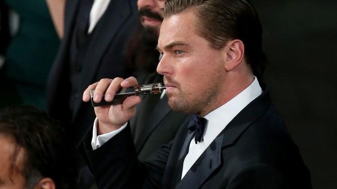 Леонардо ди Каприо на вручении премии «Золотой глобус»