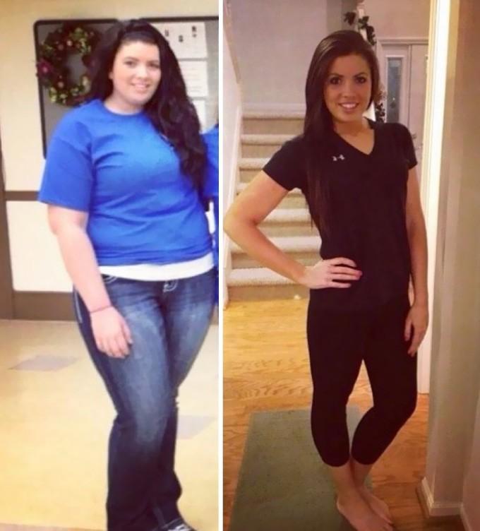 Минус 40 килограмм за год, и как результат – отличный внешний вид и хорошее самочувствие.