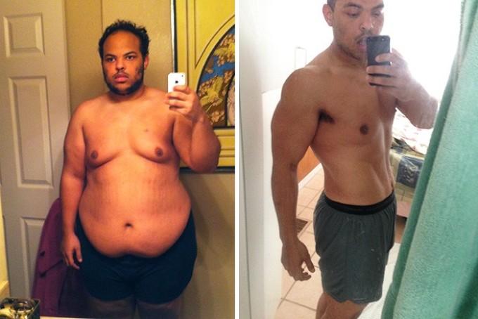 Сбросив 68 килограмм за 9 месяцев, этот парень навсегда изменил свою жизнь.