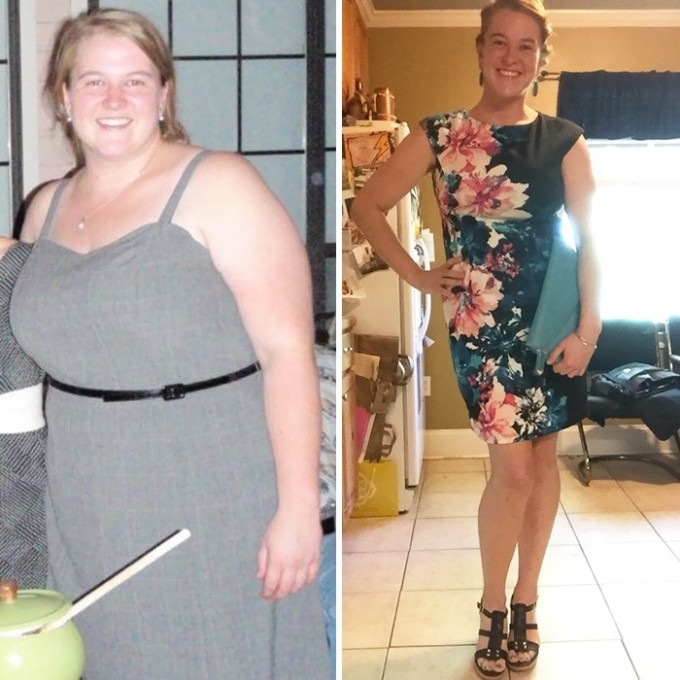Разница между 136-ю и 75-ю килограммами заметна с первого взгляда.