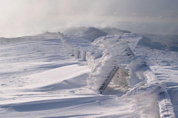 Снежные скульптуры Плинлимона
