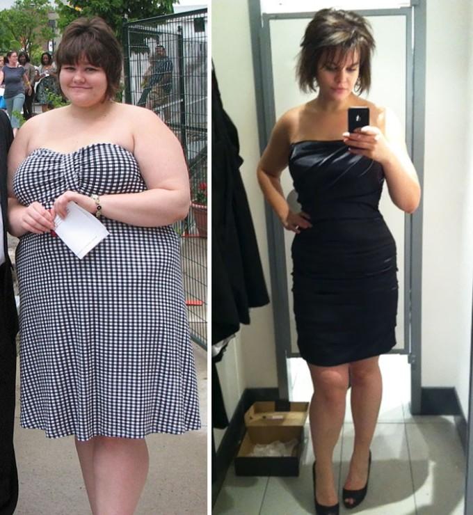 Эта девушка сумела сбросить 60 кг за год и пять месяцев.