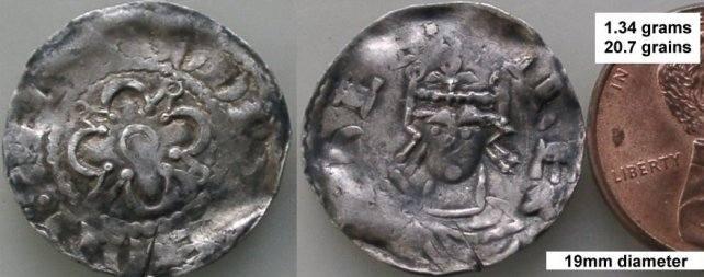 Cеребряный норманский пенни