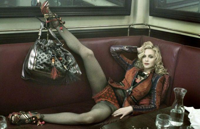 Мадонна для Louis Vuitton, 2009 год.