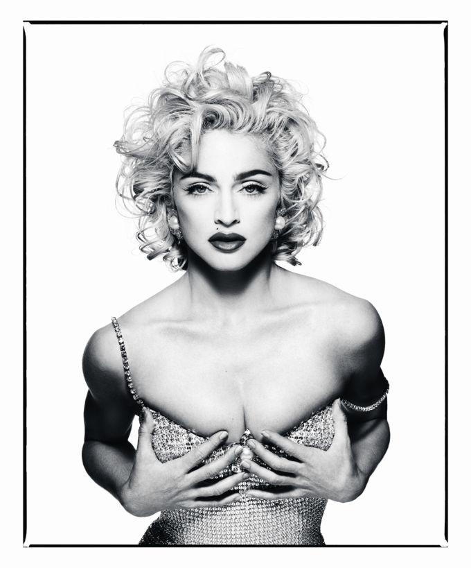 Мадонна, 1990 год.
