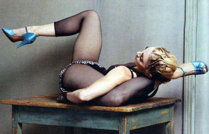 Мадонна для журнала W, 2003 год.