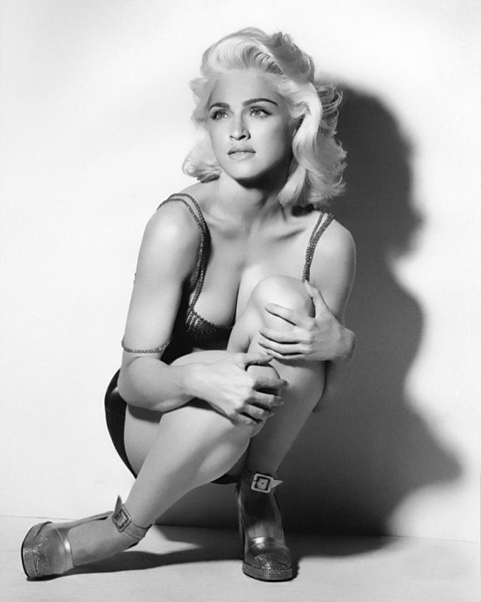 Мадонна, 1991 год.