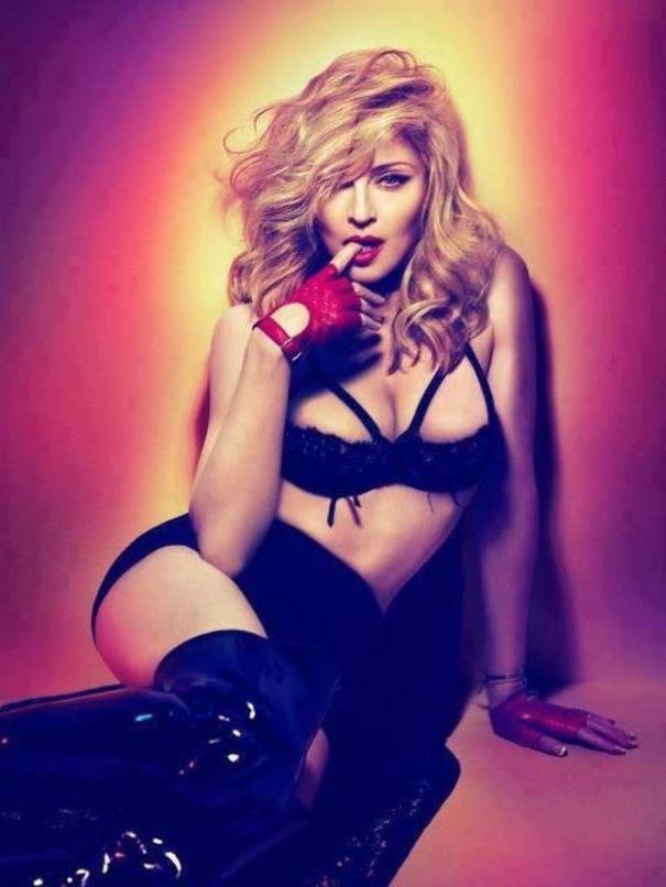 Мадонна, 2012 год.