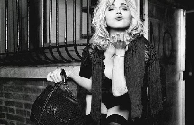 Мадонна для Dolce & Gabbana, 2012 год.
