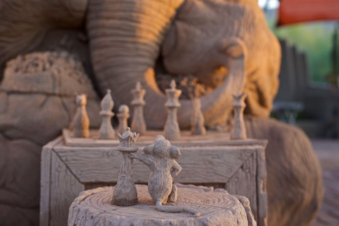 песочная скульптура-3