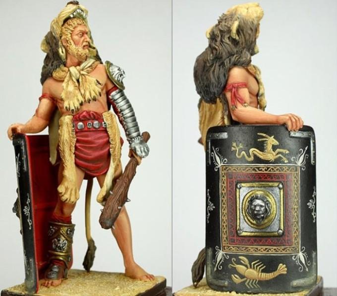 Римский император Коммод. Фигурка производства Pegaso Models