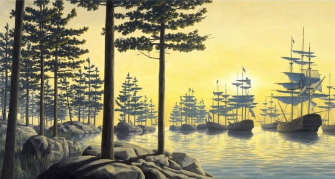 Картины-иллюзии заставляют взглянуть на мир по-новому