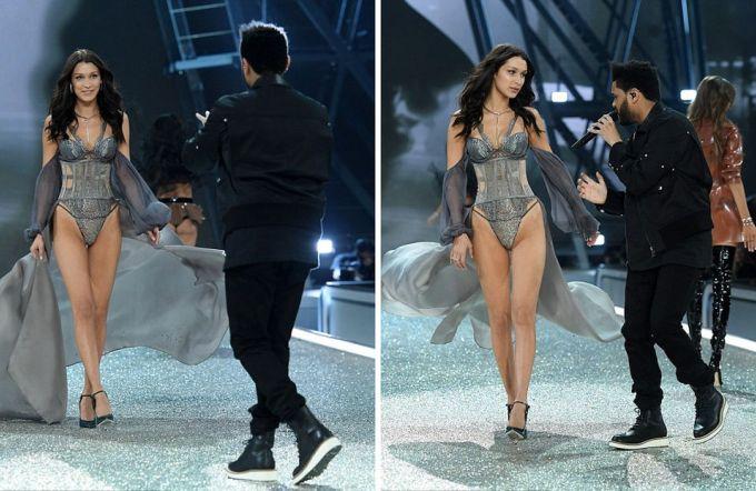 Модель Белла Хадид и ее бывший парень The Weeknd