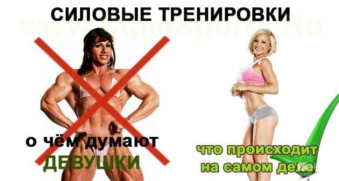 Снижение веса в тренажерном зале женщине